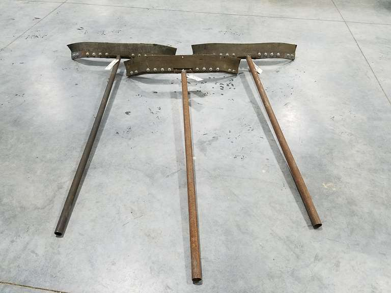 (3) Concrete Floor Squeegees
