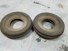 (2) Carlisle 11.00 - 16SL 8 Ply Tractor Tires - New