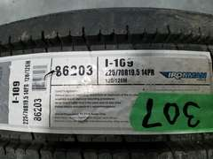 (2) Ironman 225/70R19.5 14 PR Tires - New