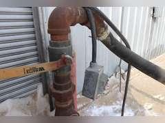 2500 gallon protein tank, stand, & motor