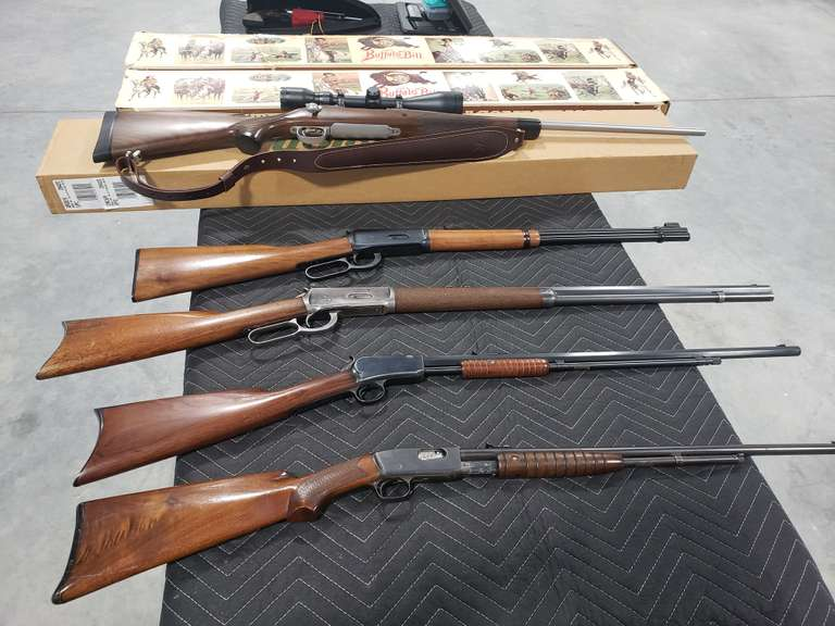 May 3rd Online Firearm & Ammo Auction Plus Knives