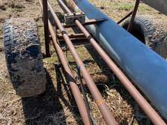 "Pit Pump, 10"" x 22' + 30ft gated pipe"