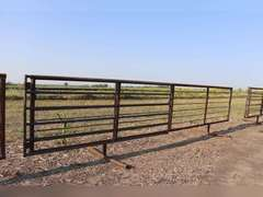 24ft. Free Standing panel with 11.5ft gate