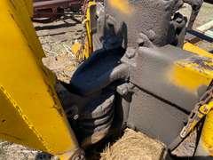 Backhoe system on trailer