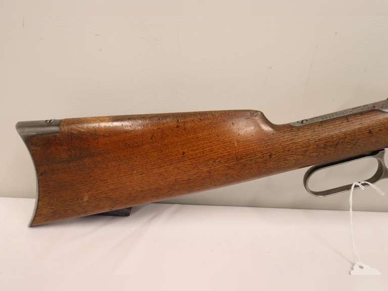 Winchester Model 94 Lever Action Hex Barrel Rifle - 30 WCF - SN:  77715 (1896 year)