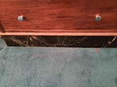 Vintage Dentist Cabinet (Back is Loose) 29x12x45