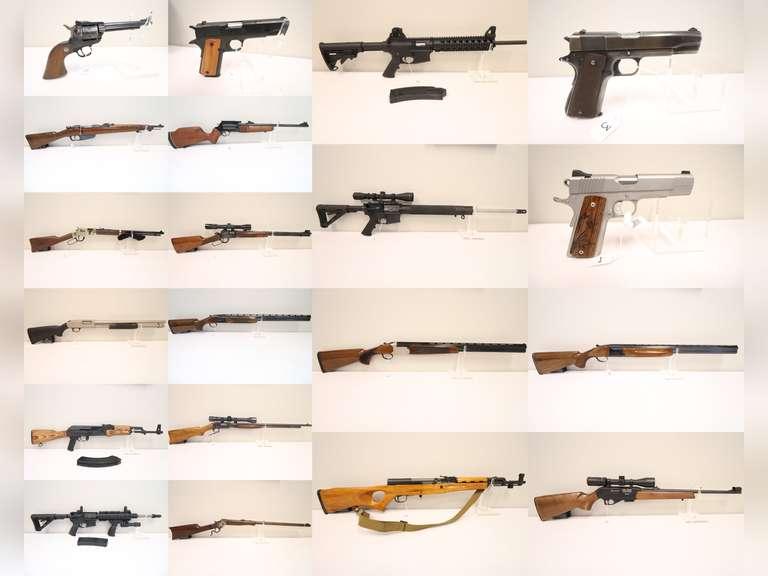 No Reserve Online Firearm Auction
