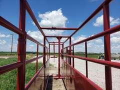 "New Amish Built 20FT Adjustable Alleyway, 18-30"""