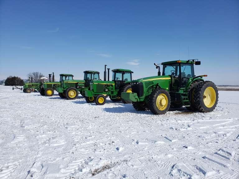 December 7th Online Equipment Auction