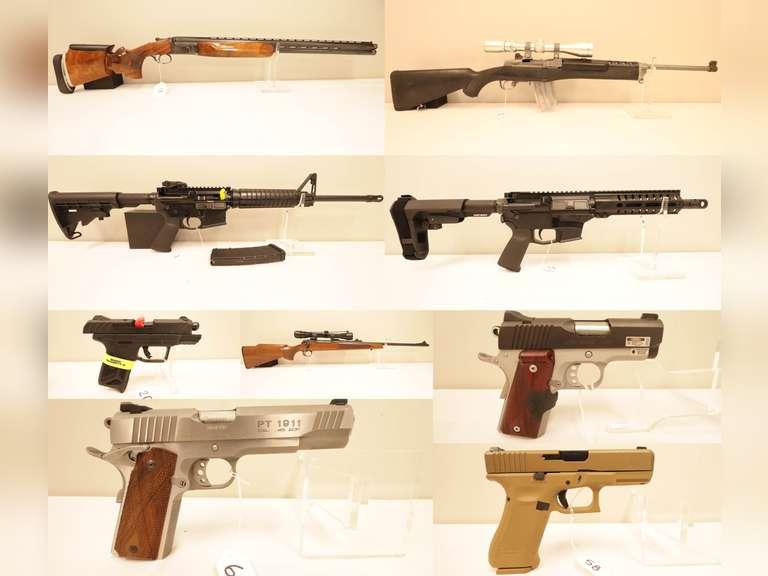 No Reserve Online Firearm, Ammo & Damascus Knives
