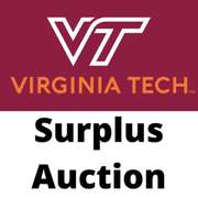 March - Virginia Tech Surplus Auction