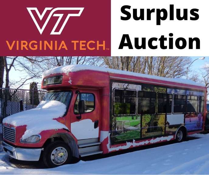 Virginia Tech Surplus Auction