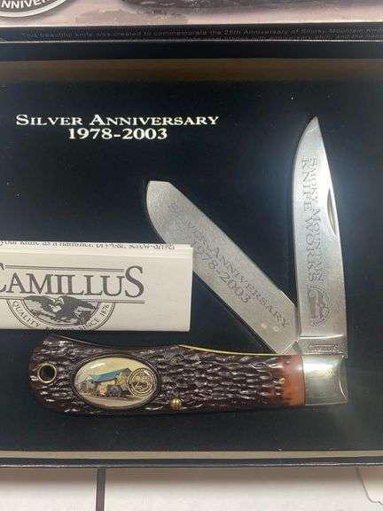 Camillus Smokey Mountain Knife Works Edition