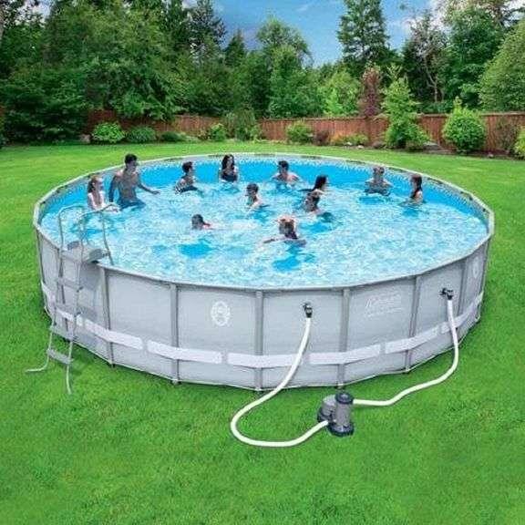Coleman 22ft Swimming Pool