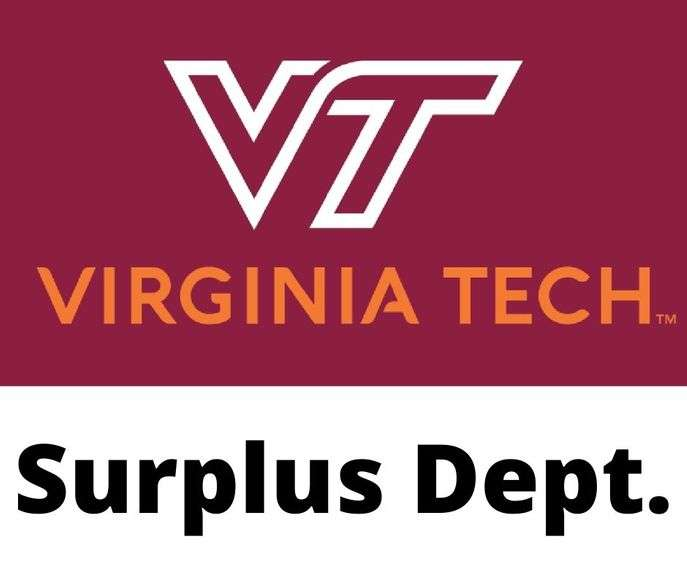 Virginia Tech Surplus Auction - April