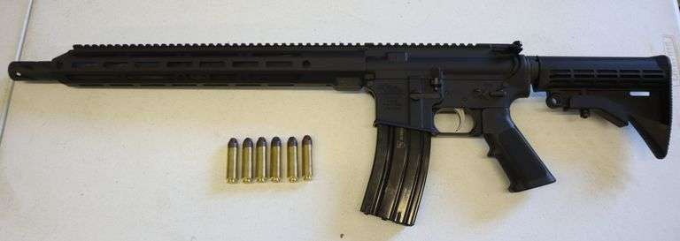 Anderson 50 CAL BEOWULF Rifle w/ 6 Rounds