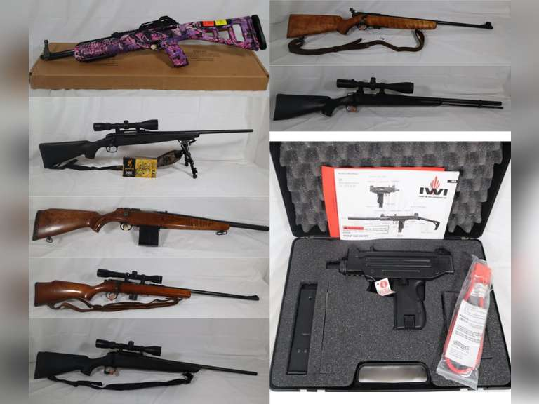 Outdoor Man Consignment Auction - Guns, Ammo, Knives & More