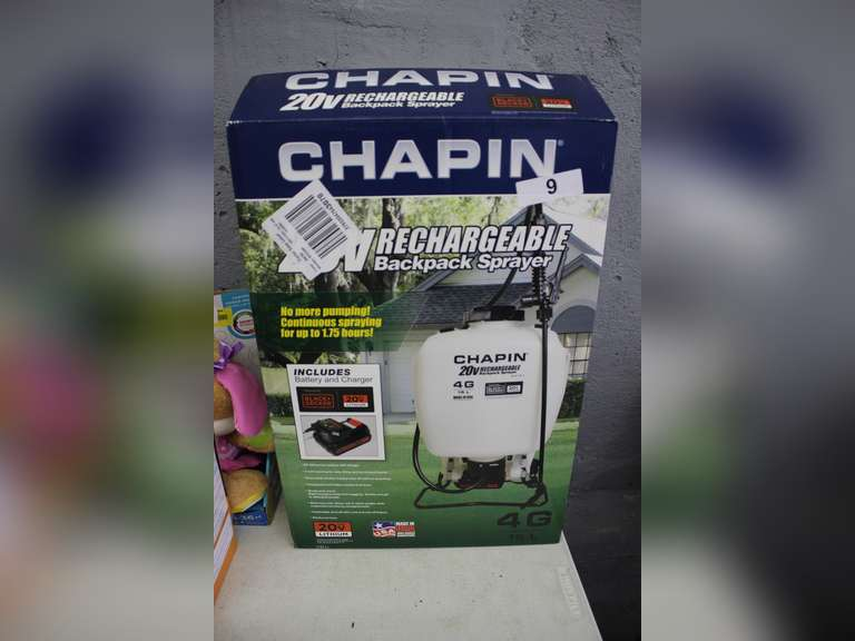 Chapin Rechargeable Backpack Sprayer