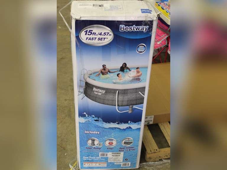15Ft  Bestway Pool