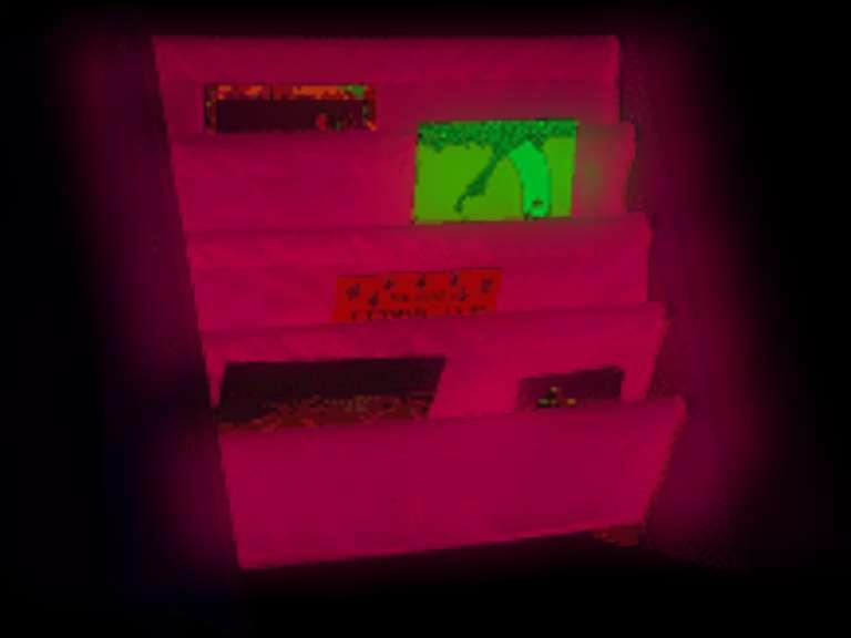 Wildkin White Sling Bookshelf with Pink Canvas