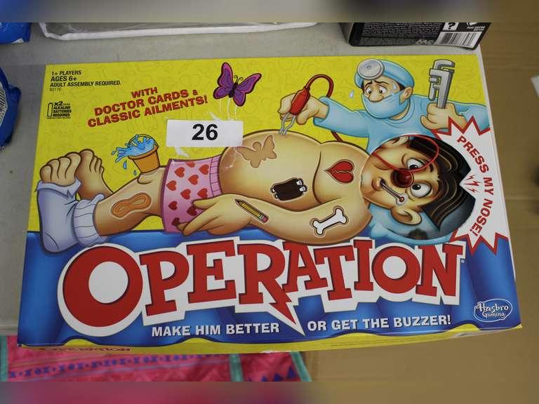 Operation Game Set