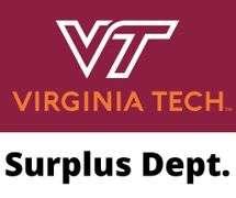 Virginia Tech Surplus - September