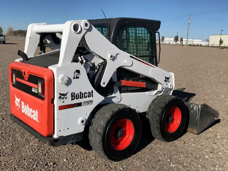 2015 Bobcat S650 Skid Steer Loader - Selling for Estate