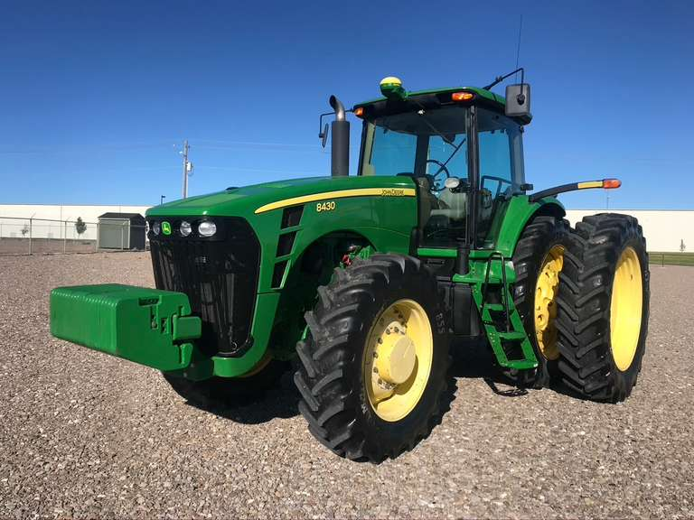 2009 John Deere 8430 MFWD Tractor • Only 4675 Hours