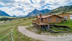 UNDER CONTRACT - 85 The Way West - Sunlight Basin Cabin