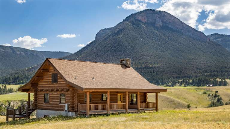 •SOLD• 54 The Way West Road Cabin-Sunlight Basin, Wyoming