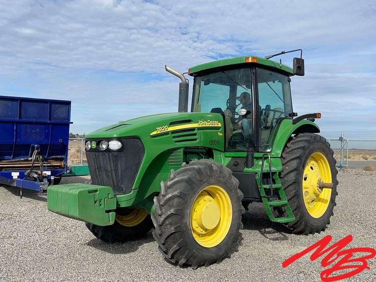 Tractor, Spreader & Water Truck