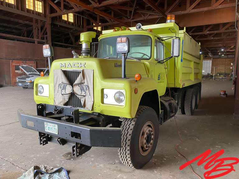17K Mile Surplus Dump Truck/Snow Plow