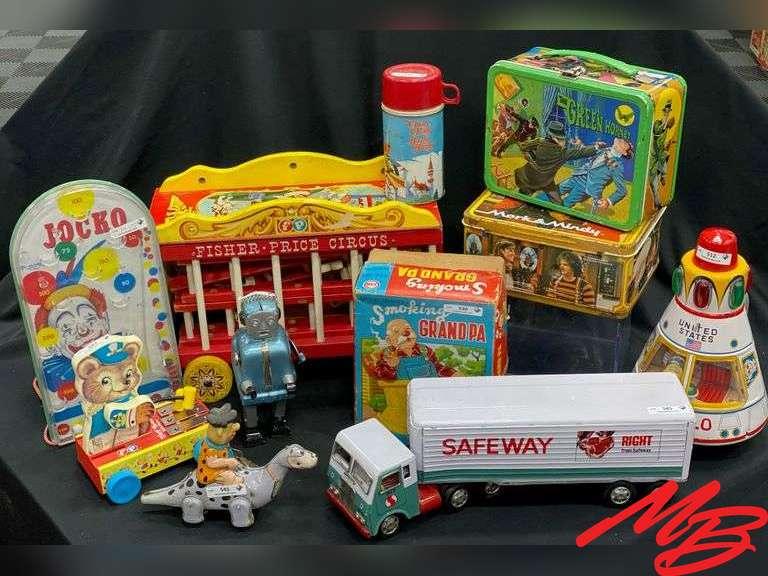 Lambel Toy Collection 1-4 Auctions! estate details.com