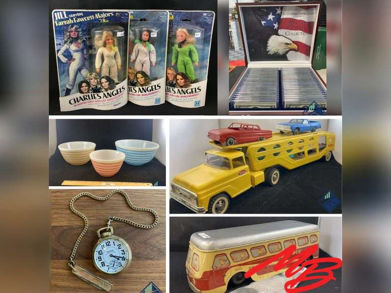 Vintage Collectibles Consignment Auction • Accepting Consignments Now