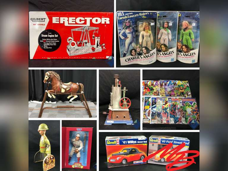 Vintage Collectibles Consignment 2 Auctions