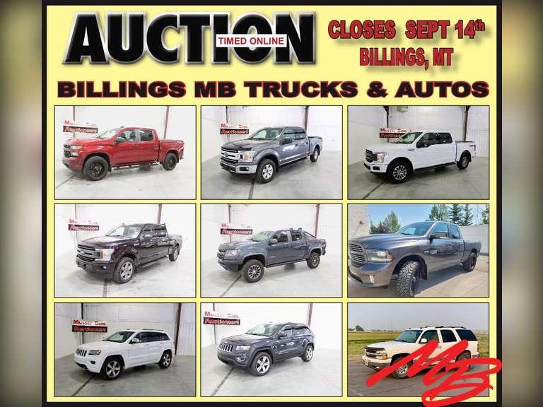 Billings MB Trucks & SUV Auction