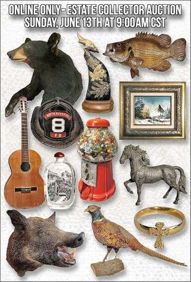 ONLINE ONLY - Estate Collector Auction
