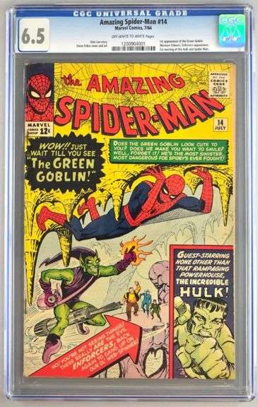 LIVE GALLERY AUCTION - Comic Book Auction