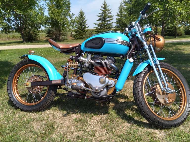 1959 Triumph Pre Unit T120