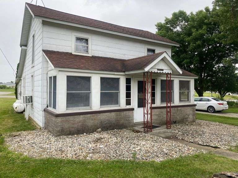 ONE & HALF STORY HOME WITH 2-CAR DETACHED GARAGE!