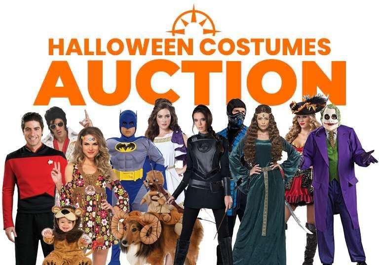 Halloween Costumes Liqiuidation Auction