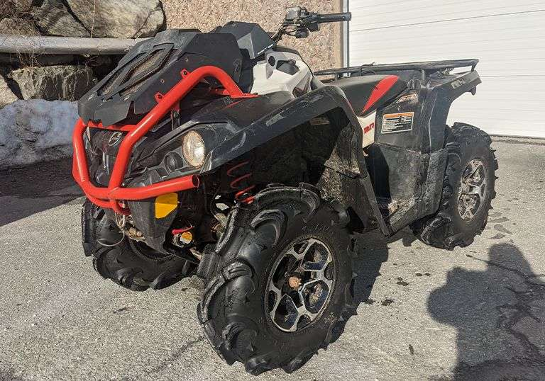 2016 Can AM LX MR 570 - Trustee in Bankruptcy Auction