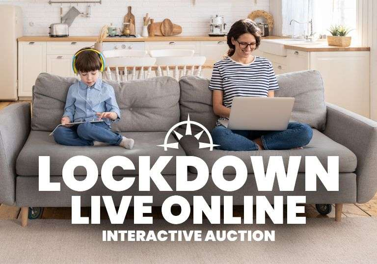 LOCKDOWN Live Online Interactive Auction