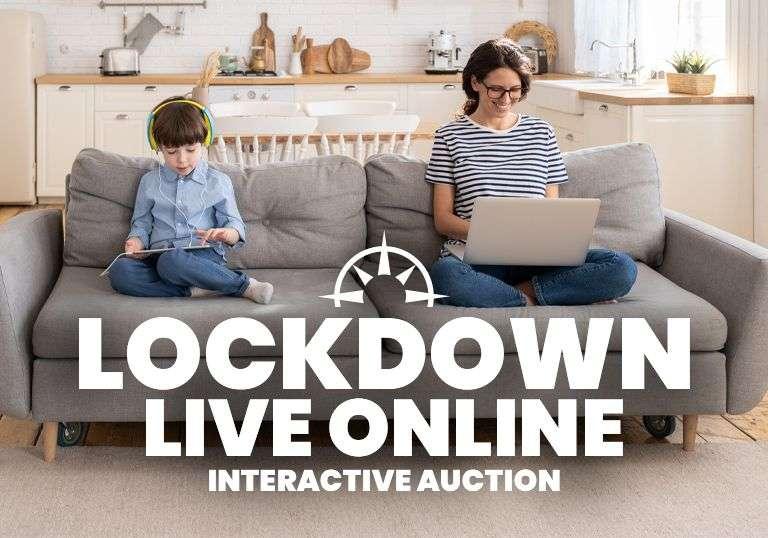 LOCKDOWN Live Online Interactive Auction