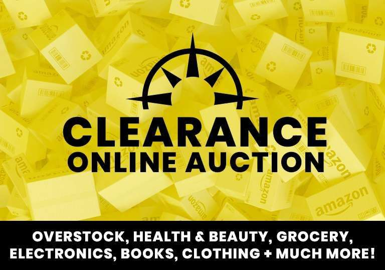 Clearance Online Auction - Overstock, Health & Beauty, Grocery, Electronics + Much More!