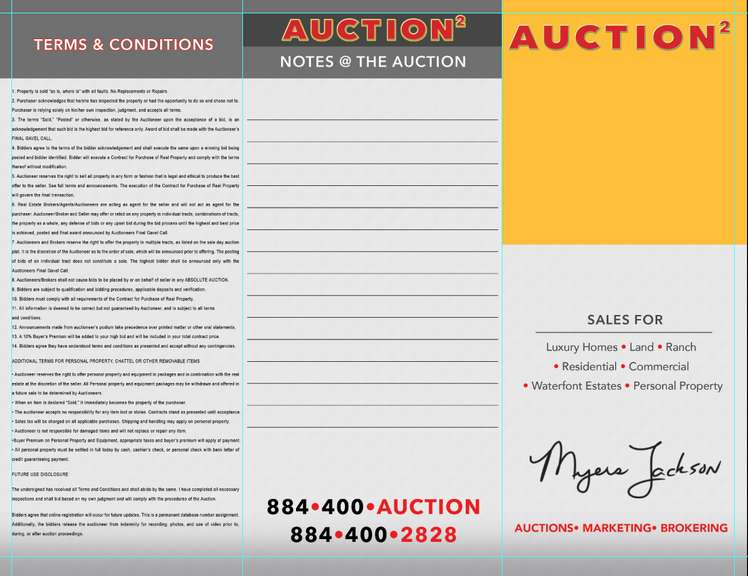 myers jackson auctions general terms and conditions