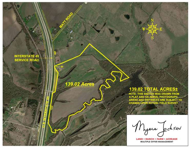 139ac Investment Property-Hunt-Farm-Recreational Ellis Co Texas