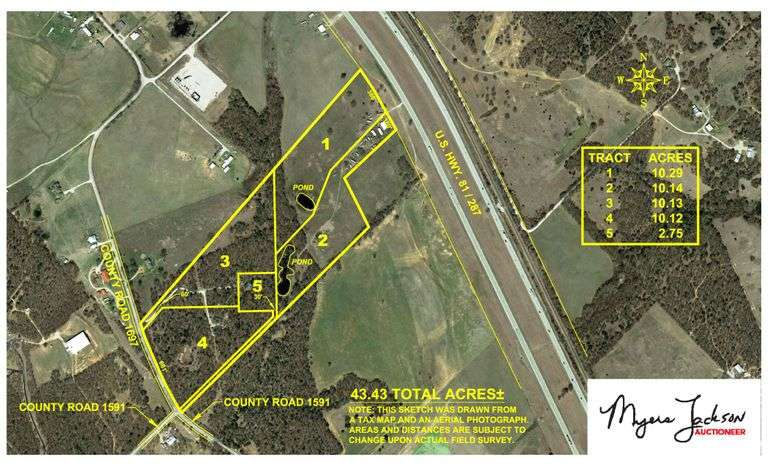43 acres-More or Less-Wise County-Land for Sale-Near Alvord-Decatur-DFW