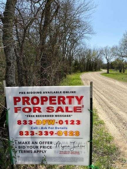 11+/- Acres Lamar County Land Auction