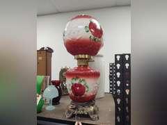 Antique furniture, quilts, saddles, toys, Columbia Grafonola, collectibles, clocks, lamps, tools, ice box, artwork,